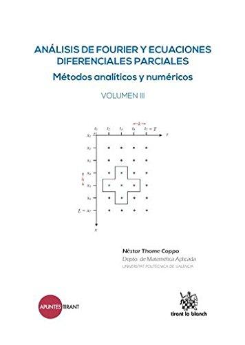 Análisis de Fourier y Ecuaciones Diferenciales Parciales Métodos Analíticos y Numéricos Volumen III (Apuntes Tirant) por Néstor Thome Coppo