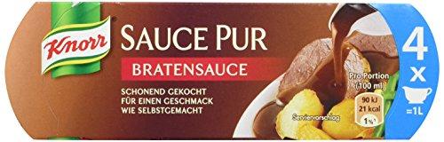 Knorr Soße Pur Bratensauce, 3er-Pack (3 x 4 Portionen)