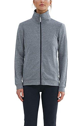 Esprit Sports Zipcardigan, Sweat-Shirt Femme Gris (Anthracite 2 11)