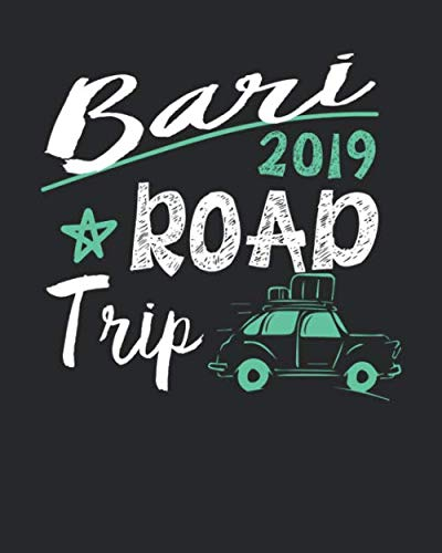 Bari Travel Journal| Bari Vacation Journal | 150 Pages 8x10 | Packing Check List | To Do Lists | Outfit Planner And Much More ()