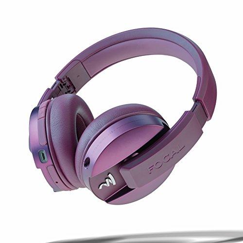 Focal Listen Wireless Chic Over-Ear Kopfhörer (faltbar, mit Bluetooth 4.1 aptX, zwei