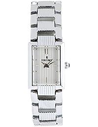 Escort Analog Silver Dial Women's Watch- 4507 SM SL