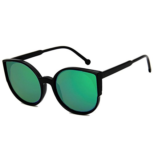Kostüme Cat Kleinkind (Z-P Grils Classic Retro Fashion Cat's Eye Color Film Lens Reflective UV400 Sunglasses)