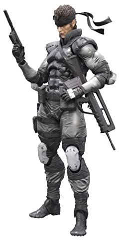 Figurine 'Metal Gear Solid' Play Arts Kai - Solid Snake