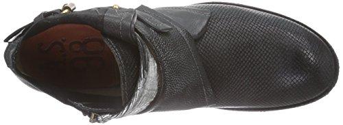 A.S.98 242211 Damen Desert Boots Schwarz (Dark/Nero)