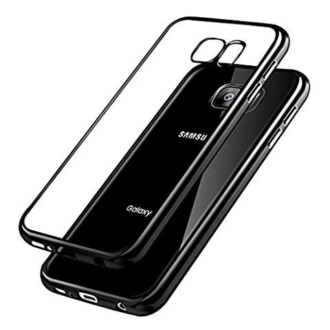 Samsung Galaxy S7 Hülle , Ubegood Kratzfeste Plating TPU Case