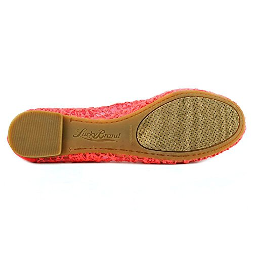 Lucky Brand Elisabeta Toile Chaussure Plate Cayenne