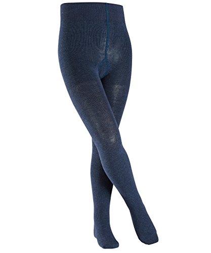 FALKE Kinder Strumpfhosen Family - 94% Baumwolle, 1 Stück, Blau (Navy Blue Melange 6490), Größe: 122-128