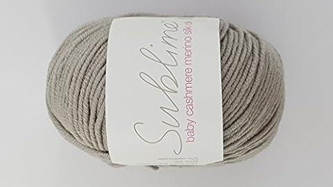 Sublime en laine mérinos pour bébé en cachemire soie dk: 276–Skipper laine à tricoter fil Cashmerino