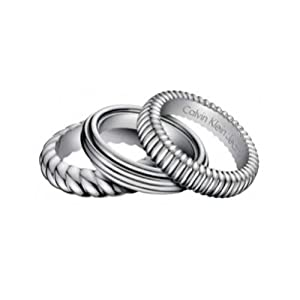 Calvin Klein Wave Ringset KJ 17AR010105