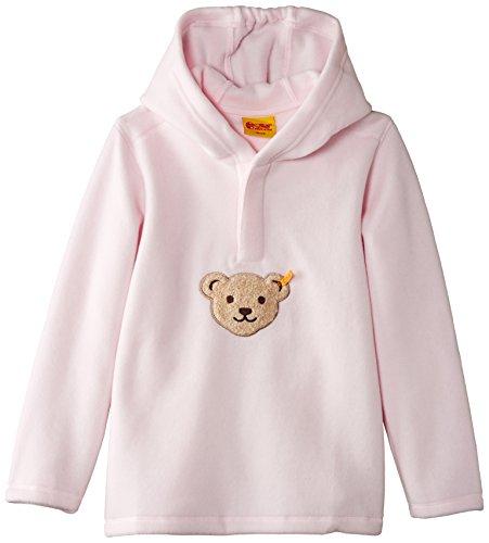 Steiff Unisex Baby Sweatshirt Gr. 122 (Herstellergröße: 128), Rosa - Barely Pink