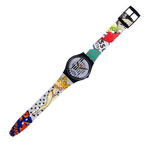 Swatch GB151 - Orologio da polso, cinturino in plastica