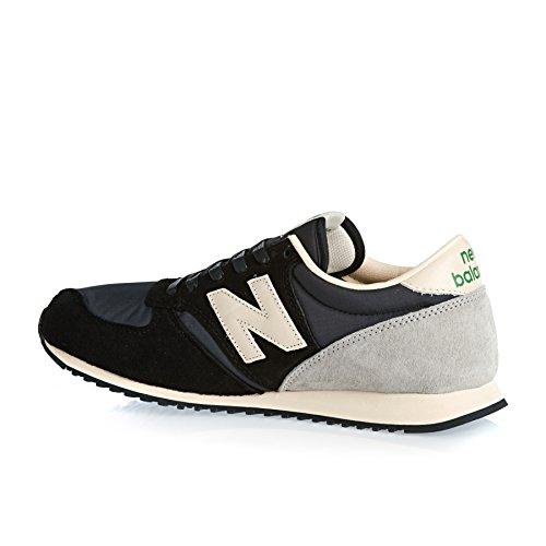 New Balance U420, Chaussures Premiers Pas Homme Noir, blanc et gris