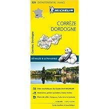 Carte Corrèze, Dordogne Michelin de Collectif Michelin ( 1 avril 2015 )