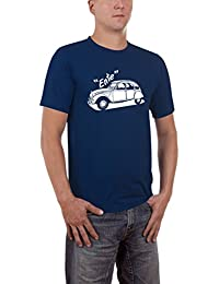 Touchlines Ente 2cv Youngtimer Slimfit, T-Shirt Homme