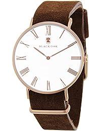 BLACK OAK Reloj con movimiento cuarzo japonés Man BX5680R-126 40 mm