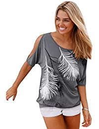 Camisetas Anchas Mujer Camiseta Camisas Para Damas Camisa Manga Corta Carta Estampadas Señora Verano Remeras Poleras de Mujer Tops Sin Tirantes Blusas Elegantes Blusa Fiesta Top