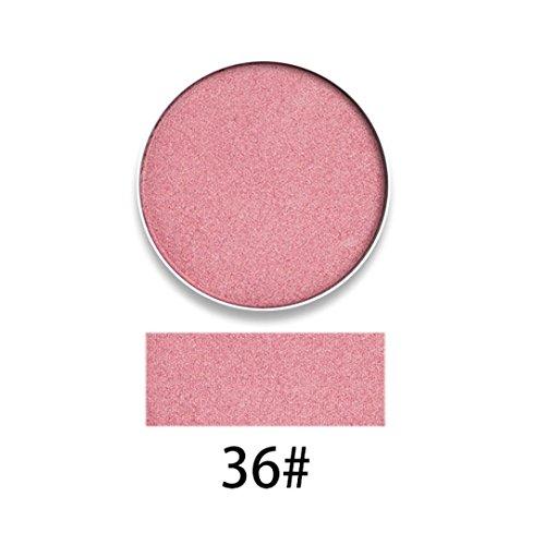 Gaddrt MEIN NAME IST RACHEL Perle Langlebige Bunte Lidschatten Lidschatten Presse Pulver Kosmetik Make-Up (A)