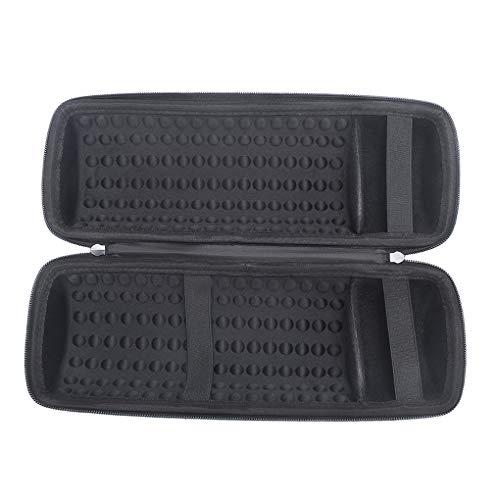 Busirde Ersatz für JBL Pulse 3 Lautsprecher-Speicher-Fall abnehmbare Schultergurt-Haken-Beutel-Taschen-Tasche schwarz for JBL pulse3 -
