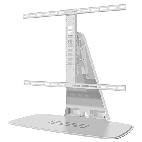Sanus wstv1drehbaren Universal-TV-Ständer für 32-152,4cm Bildschirme und Sonos Playbase/Playbar-Weiß