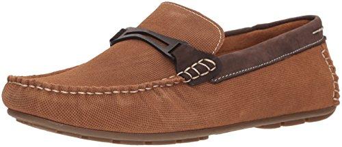 Steve Madden Men's Garland Loafer, Dark tan, 12 M US