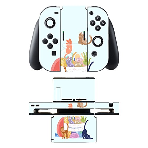 "Motivos Disagu Design Skin para Nintendo Switch + Controller + Dockingstation: ""Antidepressants"" 419td5w SwL"