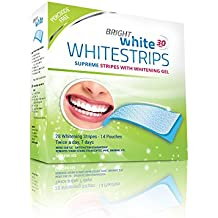 Teeth Whitening Strips - 28 Bright White PROFESSIONAL Peroxide Free Whitening Strips