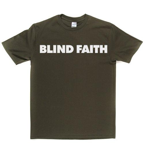 Blind Faith English Rock Band Clapton UK London T-shirt Militärgrün