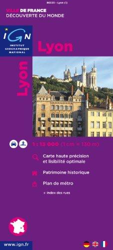 Lyon : 1/13 000