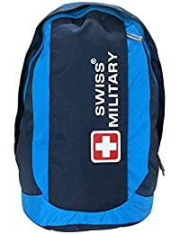 Swiss Military 31 Ltrs Blue Laptop Backpack (LBP22)