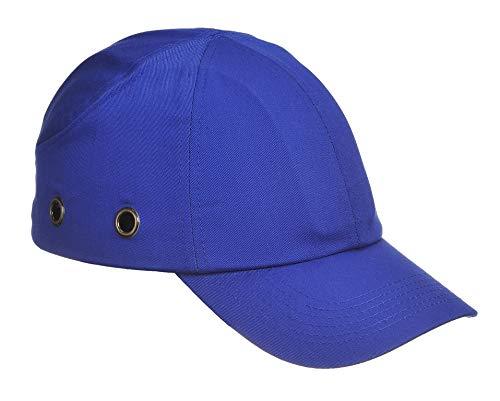 Sicherheitskappe- Industriekappe- Anstoßkappen- Arbeitskappe- Schutzkappe-Hard Cap- Work Cap mit ABS-Schale- CE- zertifiziert- EN812 (Blau) - Schweißer-cap
