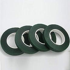 Flower Making Dark Green Tape Pack of 4