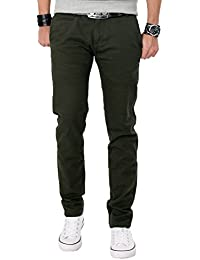 Rock Creek Herren Chinohose Slim Fit Jeans Hose Chino RC-2042