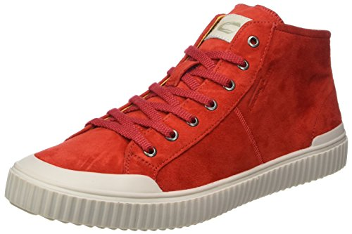 camel active Damen Rail 71 High-Top Rot (fire 03)
