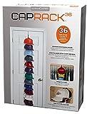 Cap Buddy Caprack36 - Schwarz mit 12 Clips - Für 12 bis 36 Baseball Caps - von Perfect Curve