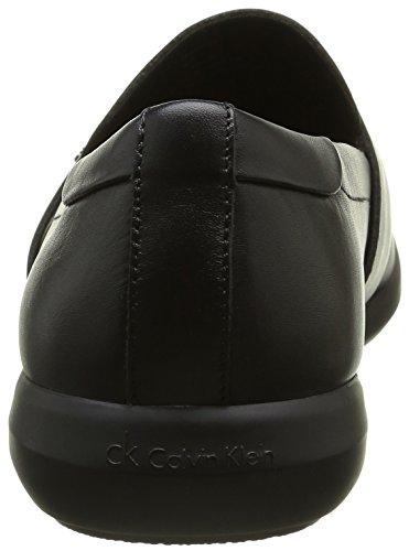 Calvin Klein Herren Zafar Soft Calf Slipper Schwarz (Blk)