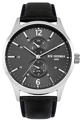 ben-sherman-r943-orologio-da-uomo-al-quarzo-con-display-analogico-e-cinturino-in-pelle-colore-blu-ne