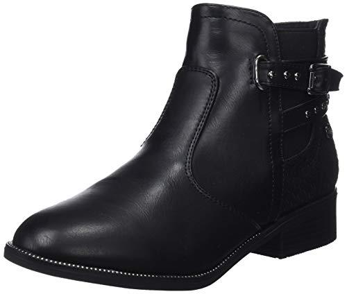 XTI Damen 48433 Kurzschaft Stiefel, Schwarz Negro, 41 EU