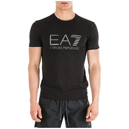 Emporio Armani EA7 Herren T-Shirt Black L (Ea7 Armani)