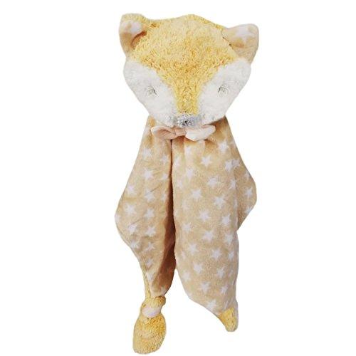 Missley Baby Fuchs Tröster Schön Kleinkind Sicherheit Decke Niedlich Tier Ausgestopft Spielzeug Beste Geschenk zum Kinder Alt 0-3 Jahre alt (Tiere Beste Ausgestopfte)