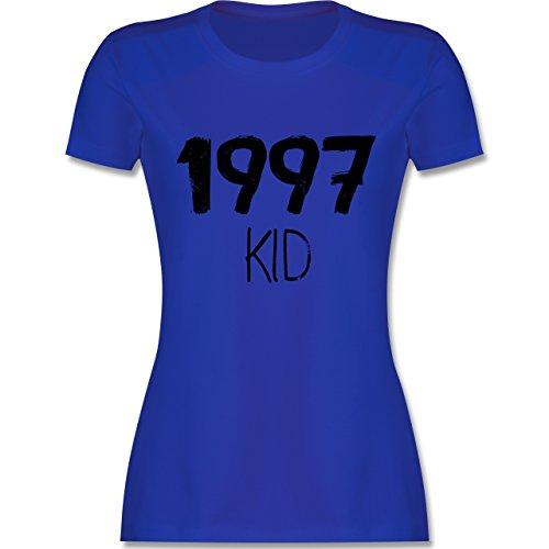 Geburtstag - 1997 KID - tailliertes Premium T-Shirt mit Rundhalsausschnitt für Damen Royalblau