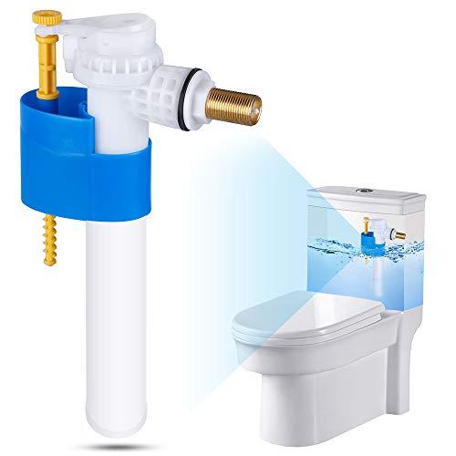 Rovtop Robinet Flotteur Soupape de Remplissage Soupape à Flotteur pour Plastique et de Réservoir en Céramique