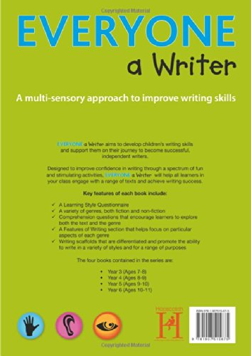 Everyone a Writer - Year 6: A Multisensory Approach to Improve Children's Writing Skills