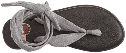 Sanuk, Sandali donna Nero black/white/tribal Grigio