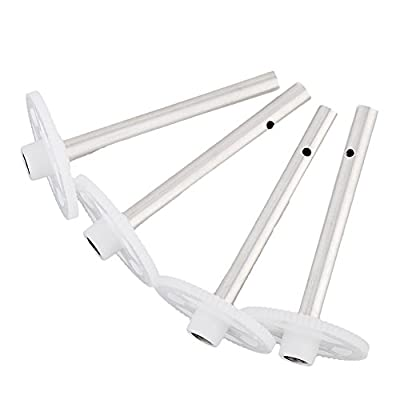 YUNIQUE UK ® 4 Pieces Jjrc H16 Tarantula X6 Drone 4ch Rc Quadcopter Spare Parts Gear --white Color by Yunique