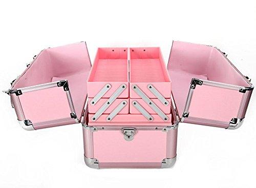 GBT Home Schönheit Fall kosmetischen box kosmetische Verschönerungs Pink