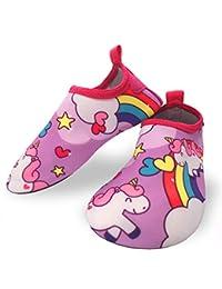 13e5feec6aa Dream Bridge Zapatillas de Agua para niños niñas Escarpines de Verano  Zapatillas de Playa Piscina Surf