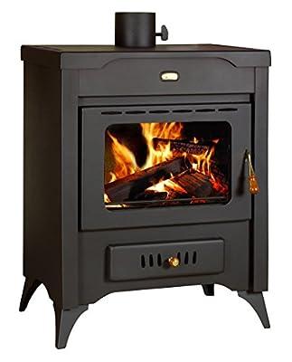 Wood Burning Stove Air Jacket MultiFuel Fireplace Log Burner 10 kw Prity MR