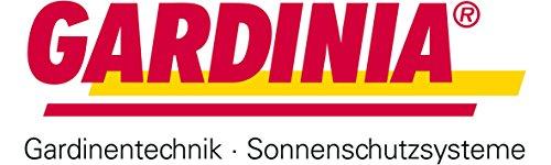 GARDINIA Doppelrollo zum Klemmen oder Kleben, Duo-Rollo/ Seitenzugrollo, Transparente und blickdichte Streifen, Alle Montage-Teile inklusive, Weiß, 90 x 220 cm (BxH) - 9