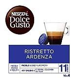 NESCAFÉ Dolce Gusto Café Ristretto Ardenza, Pack de 3 x 16 Cápsulas - Total: 48 Cápsulas de Café